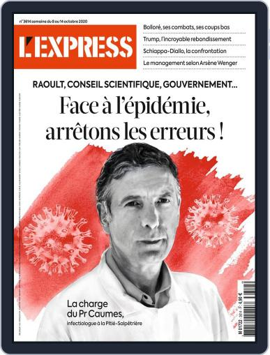 L'express October 8th, 2020 Digital Back Issue Cover