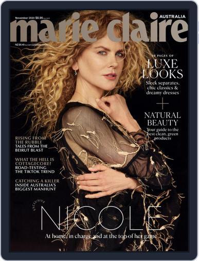 Marie Claire Australia November 1st, 2020 Digital Back Issue Cover