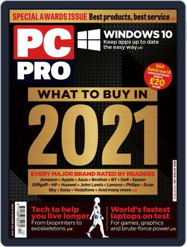 PC Pro (Digital) December 1st, 2020 Issue Cover