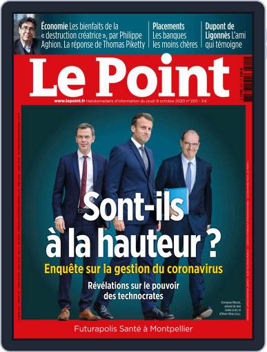Le Point (Digital) October 8th, 2020 Issue Cover