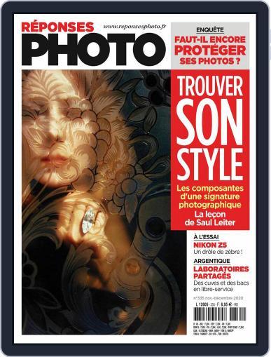 Réponses Photo (Digital) November 1st, 2020 Issue Cover