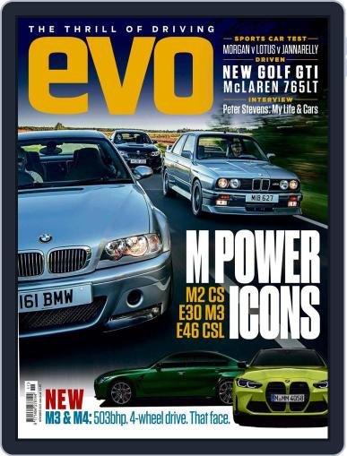 Evo (Digital) November 1st, 2020 Issue Cover