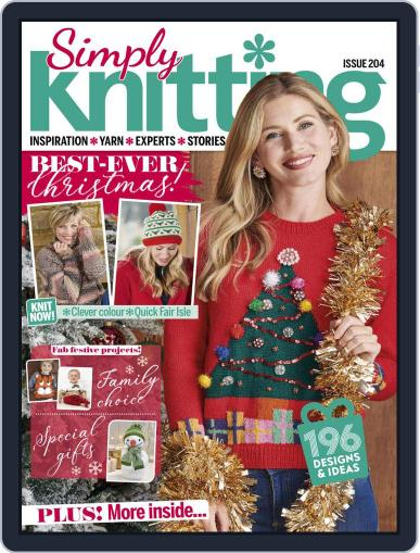 Simply Knitting October 1st, 2010 Digital Back Issue Cover
