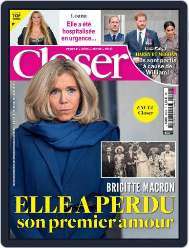 Closer France (Digital) October 9th, 2020 Issue Cover