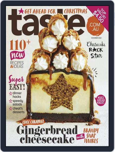 Taste.com.au November 1st, 2020 Digital Back Issue Cover