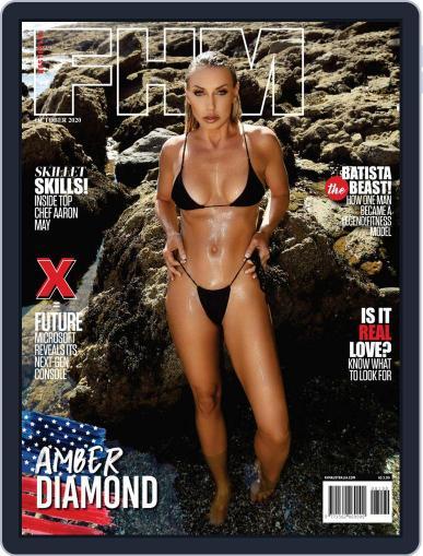 FHM Australia October 1st, 2020 Digital Back Issue Cover