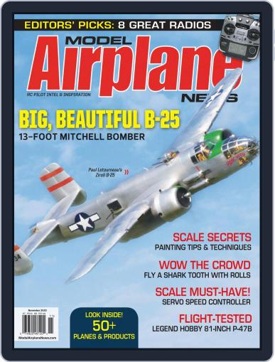 Model Airplane News (Digital) November 1st, 2020 Issue Cover
