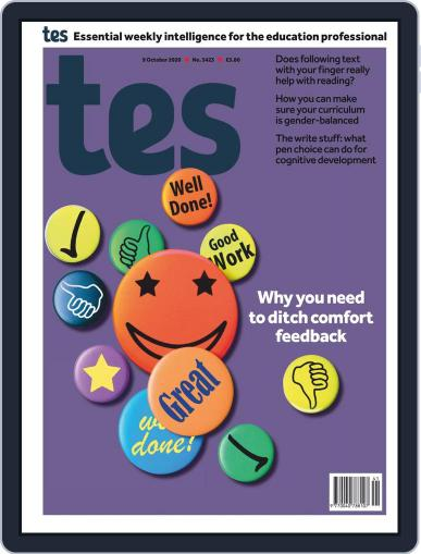 Tes (Digital) October 9th, 2020 Issue Cover