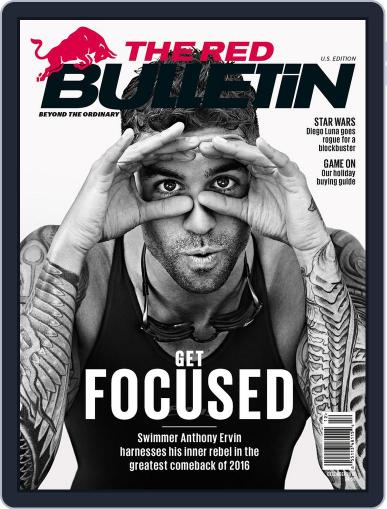 The Red Bulletin December 1st, 2016 Digital Back Issue Cover