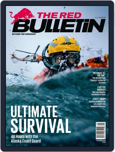 The Red Bulletin September 1st, 2016 Digital Back Issue Cover