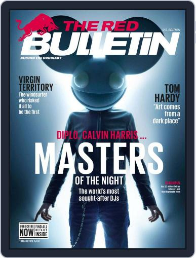 The Red Bulletin February 1st, 2016 Digital Back Issue Cover