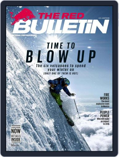 The Red Bulletin (Digital) January 1st, 2016 Issue Cover