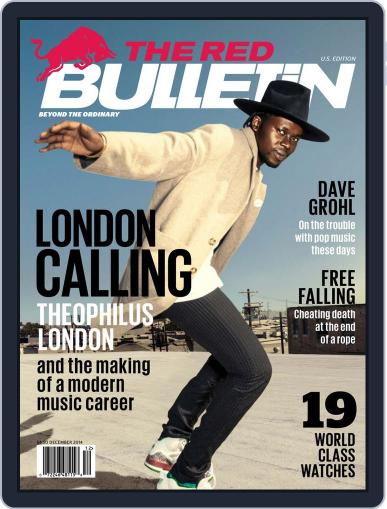 The Red Bulletin (Digital) November 10th, 2014 Issue Cover