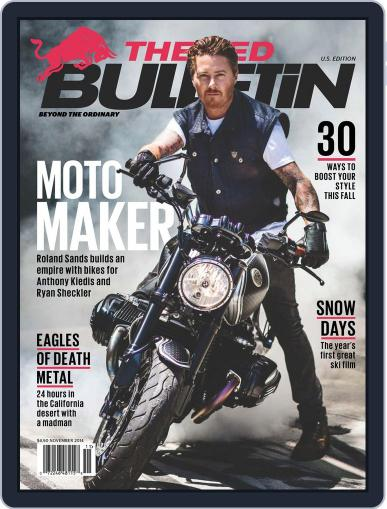 The Red Bulletin October 16th, 2014 Digital Back Issue Cover