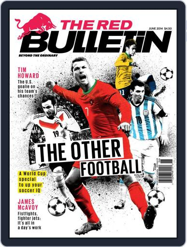 The Red Bulletin (Digital) May 13th, 2014 Issue Cover