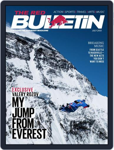 The Red Bulletin (Digital) May 29th, 2013 Issue Cover