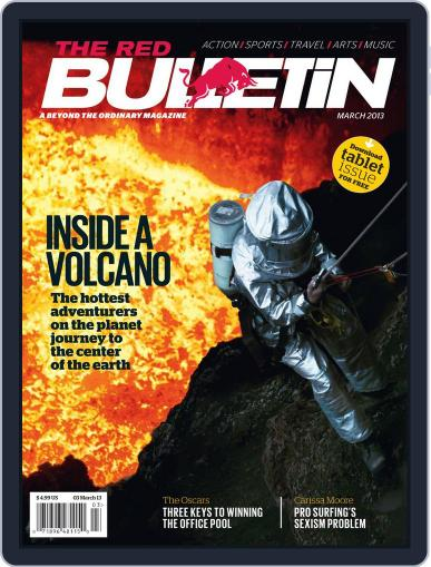 The Red Bulletin (Digital) March 7th, 2013 Issue Cover