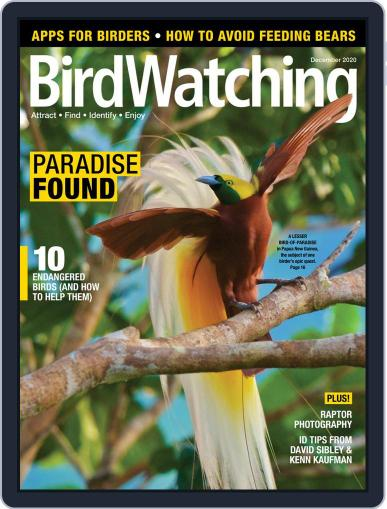 BirdWatching (Digital) November 1st, 2020 Issue Cover