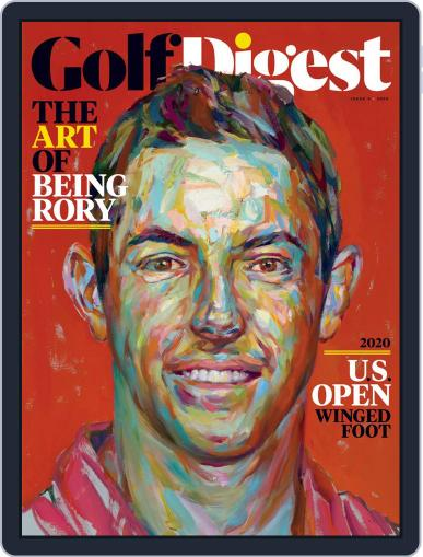 Golf Digest Magazine (Digital) October 1st, 2020 Issue Cover