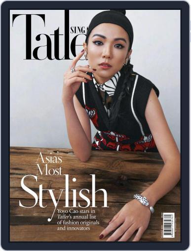 Tatler Singapore October 1st, 2020 Digital Back Issue Cover