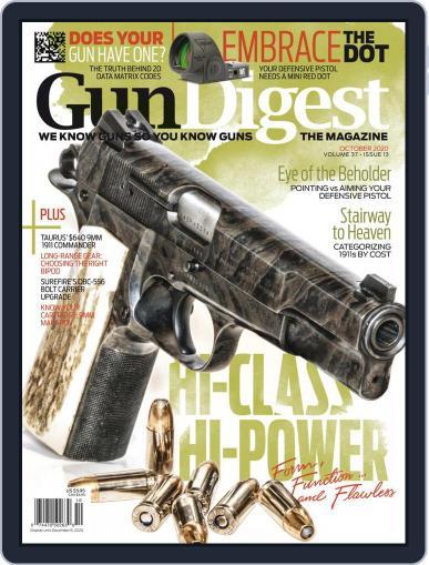 Gun Digest (Digital) October 1st, 2020 Issue Cover