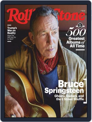 Rolling Stone October 1st, 2020 Digital Back Issue Cover