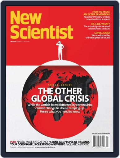 New Scientist (Digital) October 17th, 2020 Issue Cover