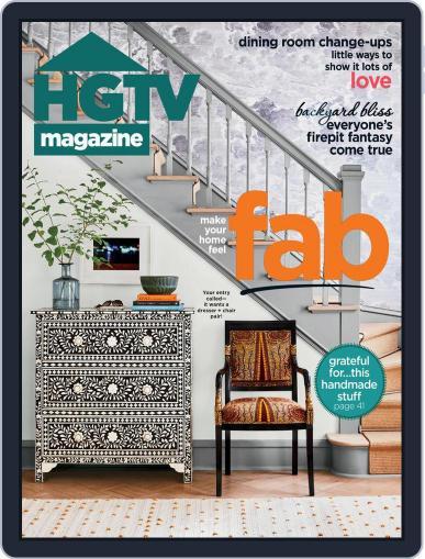 Hgtv (Digital) November 1st, 2020 Issue Cover
