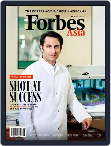 Forbes Asia (Digital) October 1st, 2020 Issue Cover