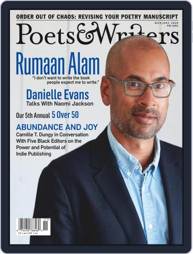 Poets & Writers (Digital) November 1st, 2020 Issue Cover