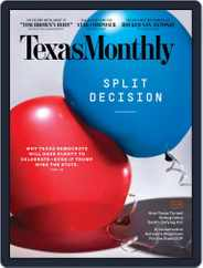 Texas Monthly (Digital) Subscription November 1st, 2020 Issue