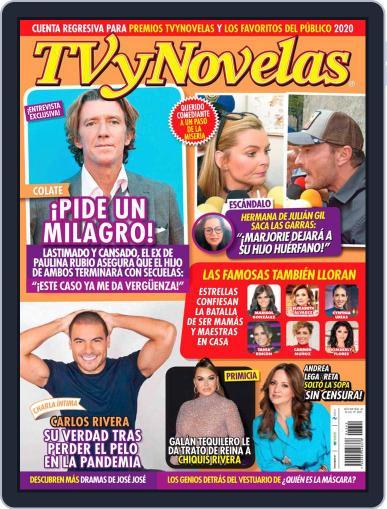 TV y Novelas México (Digital) October 19th, 2020 Issue Cover