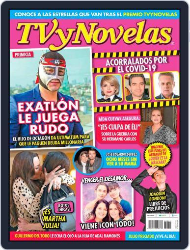 TV y Novelas México (Digital) October 12th, 2020 Issue Cover