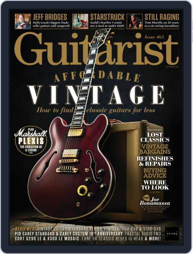 Guitarist November 1st, 2020 Digital Back Issue Cover
