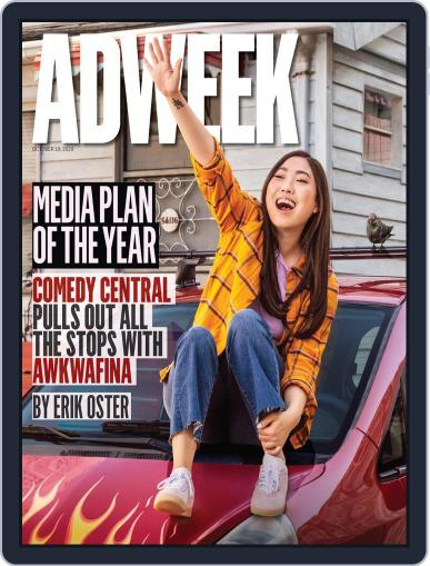 Adweek (Digital) October 19th, 2020 Issue Cover