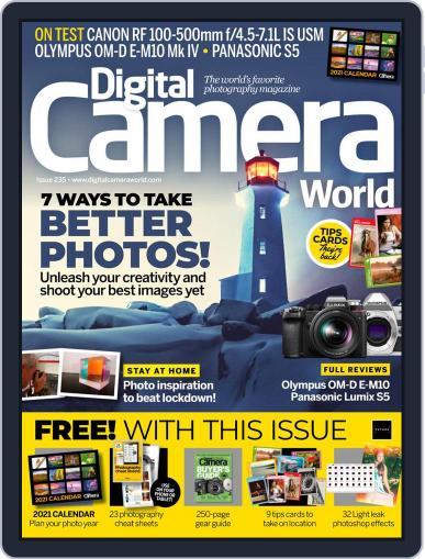 Digital Camera World November 1st, 2020 Issue Cover