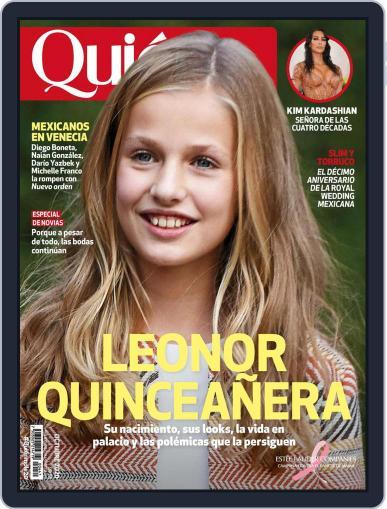 Quién (Digital) October 1st, 2020 Issue Cover
