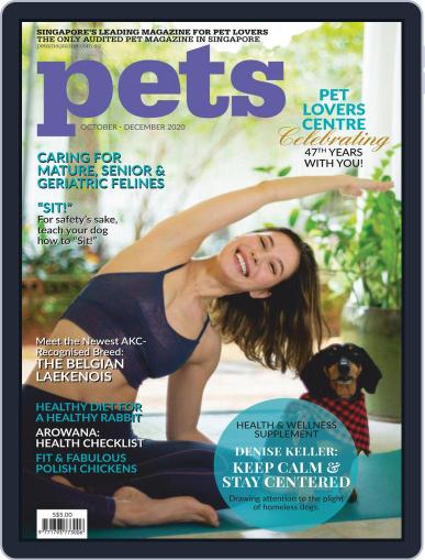 Pets Singapore October 1st, 2020 Digital Back Issue Cover