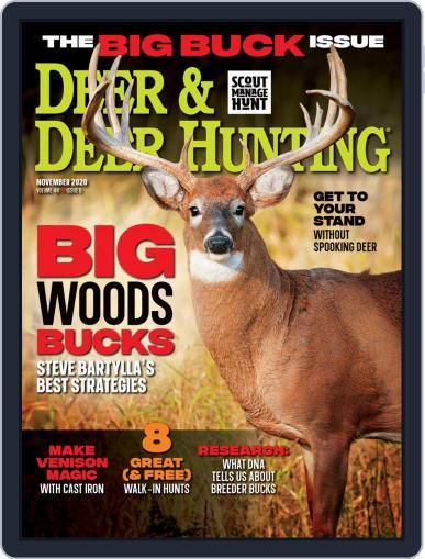 Deer & Deer Hunting November 1st, 2020 Digital Back Issue Cover