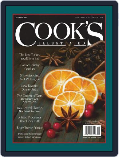 Cook's Illustrated (Digital) November 1st, 2020 Issue Cover