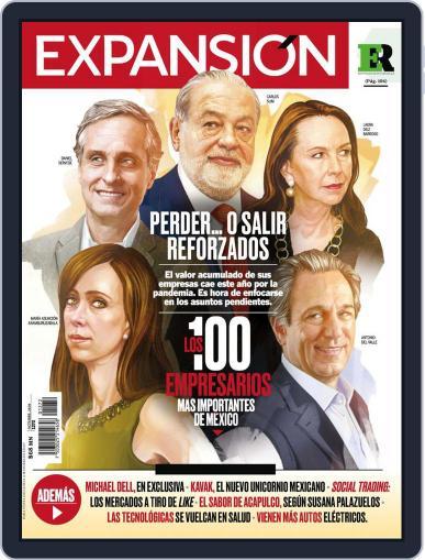 Expansión (Digital) October 1st, 2020 Issue Cover