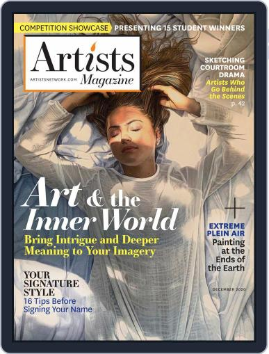 Artists (Digital) December 1st, 2020 Issue Cover