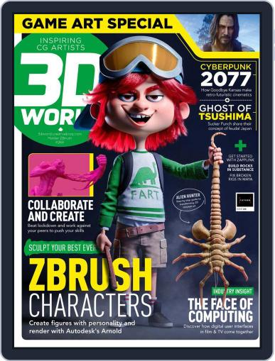 3D World December 1st, 2020 Digital Back Issue Cover