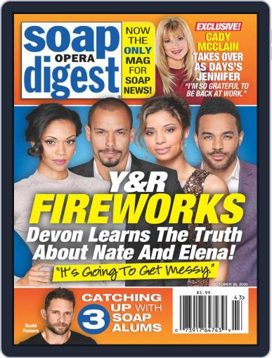 Soap Opera Digest October 26th, 2020 Digital Back Issue Cover