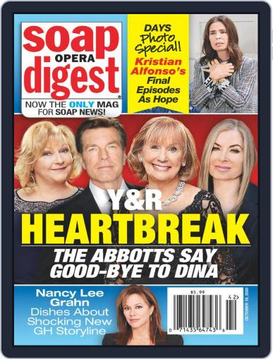 Soap Opera Digest (Digital) October 19th, 2020 Issue Cover