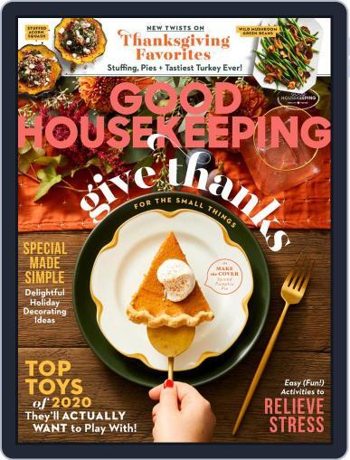 Good Housekeeping (Digital) November 1st, 2020 Issue Cover