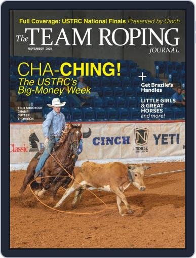 The Team Roping Journal (Digital) November 1st, 2020 Issue Cover