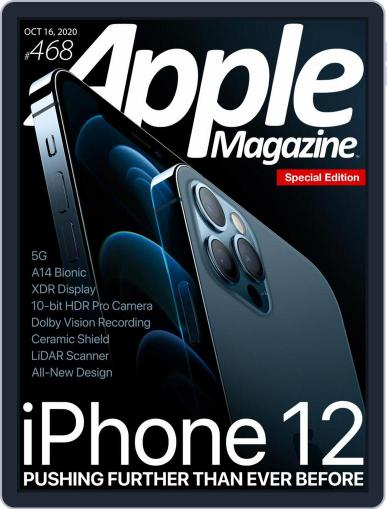 AppleMagazine October 16th, 2020 Digital Back Issue Cover