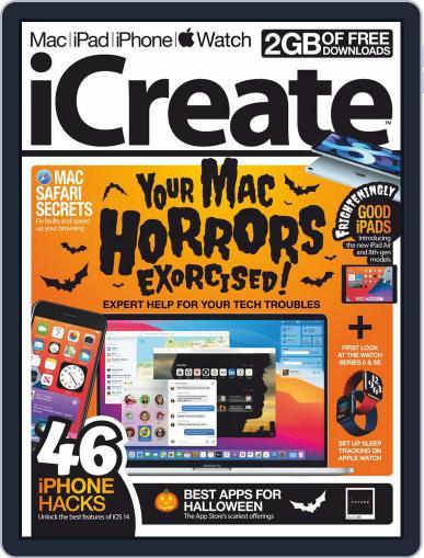 iCreate (Digital) November 1st, 2020 Issue Cover
