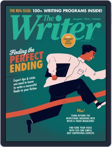 The Writer December 1st, 2020 Digital Back Issue Cover